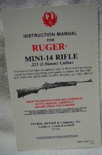 Ruger Mini 14 Rifle .223 (5.56mm) Caliber Ruger Books