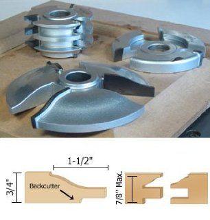Infinity Tools 00 803, 3 Piece Ogee Style Cabinet Door Making Shaper