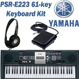 Yamaha PSR E223 61 key Portable Electronic Keyboard with