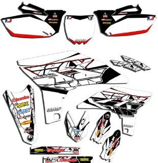 Senge Graphics 2005 2012 Yamaha TTR 230 White/Red 2013 Fly Racing