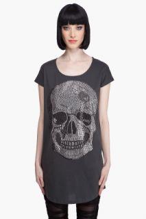 Haute Hippie Vintage Jersey Skull T shirt for women
