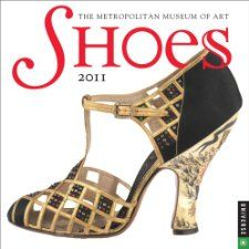 Shoes 2011 Mini Wall Calendar Metropolitan Museum of Art