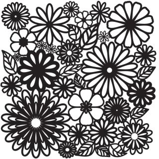 Crafters Workshop Templates 12X12 Flower Frenzy Today $8.59