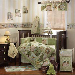 Lambs & Ivy Papagayo 6 piece Crib Bedding Set