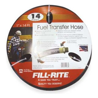 Fill Rite FRH10014 Fuel Hose, 1 In NPT Inlet/Outlet