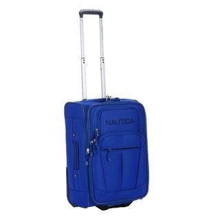 Nautica Helmsman Cobalt Blue 21 inch Expandable Carry on Upright