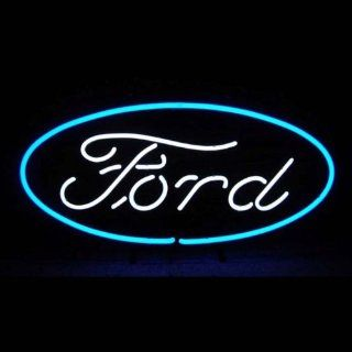 Neon Signs Ford Oval Neon Sign