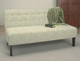 Marsalis Rain Button tufted Sofa