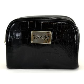Tango Black Crocodile Scoop Travel Pouch Today $19.99