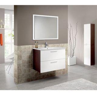 ENSEMBLE MEUBLE SDB NOA Ensemble meuble 80cm et lavabo en céramique