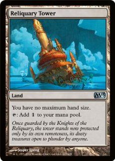 Gathering   Reliquary Tower (227)   Magic 2013   Foil: Toys & Games