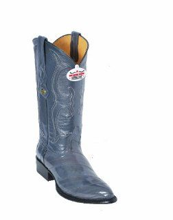 Los Altos Gray Eel Cowboy boots Shoes
