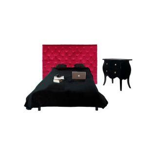 Tête de lit fuschia Chesterfield en velours (182 cm)   Inspirez vous