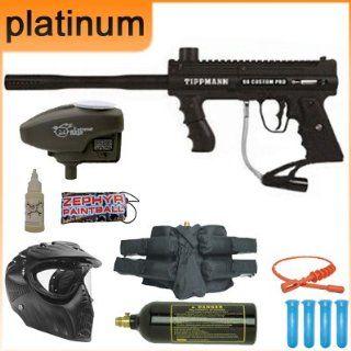 Tippmann Custom 98 Pro ACT Black Complete Platinum Package