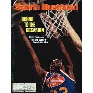 1976 David Thompson Denver Nuggets Sports Illustrated