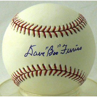 Dave Boo Ferriss Autographed Ball: Everything Else