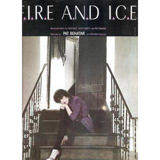 Sheet Music 1981 Fire And Ice Pat Benatar 235