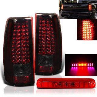 Rxmotoring 2004 2005 2006 Gmc Sierra Led Tail Light + Third 3Rd Led