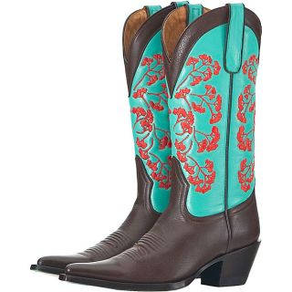 Lane by Anna Harris Womens Vines Cowboy Boots