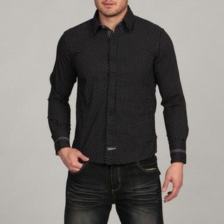 English Laundry by Scott Weiland Mens Black Woven Shirt