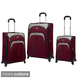 Collection 3 piece Spinner Luggage Set Today $146.99