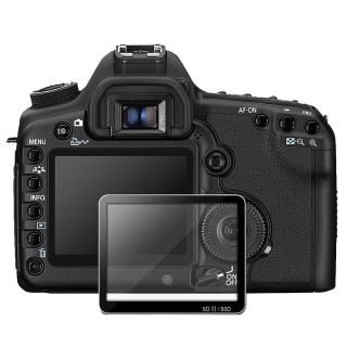 Glass LCD Screen Protector for Canon EOS 40D/ 50D/ 5D Mark II