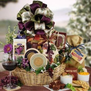 Wine Country Holiday Bountiful Gift Christmas Theme Wine Gift Basket