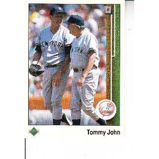 1989 Upper Deck #230 Tommy John Baseball