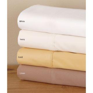 Luxury Sateen 1000 Thread Count Solid Sheet Set (Queen)