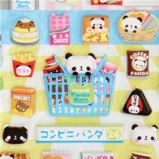 sponge sticker panda bear food Kamio Japan Toys & Games