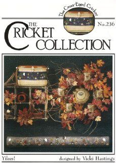 Collection   Cross Stitch   Yikes! (No. 236): Vicki Hastings: Books