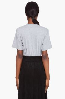 Maison Martin Margiela Grey T shirt Bodysuit for women