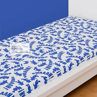 DRAP HOUSSE Lapins Cretins Bonne Nuit 90 x 190 cm   Achat / Vente