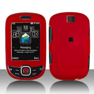 Snap on Samsung Smiley T359 Red Protective Case