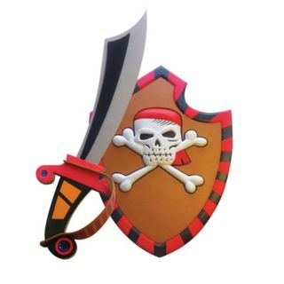 Pirate Shield and Sword Set