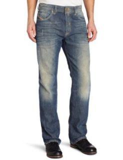 Diesel Mens Larkee Relaxed Straight Leg Jean Clothing