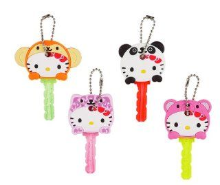 Japanese Sanrio Hello Kitty ANIMAL KEY CAP a set of 4