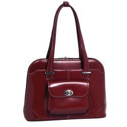 McKlein Avon Womens Leather 15.4 inch Laptop Briefcase