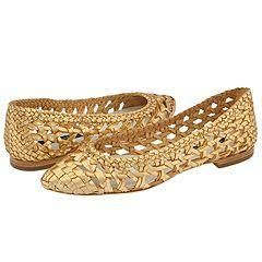 Anne Klein New York Andrika Gold Metallic Nappa