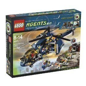 Lego Agents Aerial Defense Toys & Games