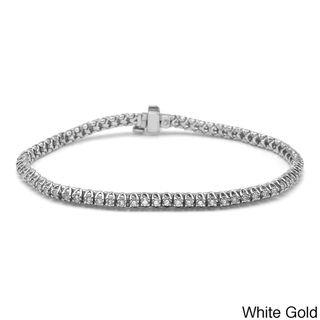 14k Gold 1ct TDW Diamond Tennis Bracelet