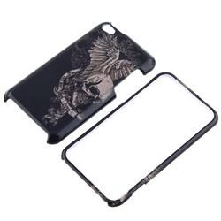 Snap on Skull Wing Case for Apple iPod Touch 4th Gen