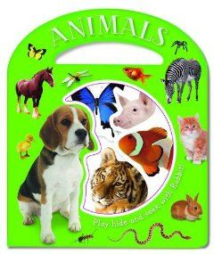 Animals (Busy Windows) (9781780653167): Sarah Phillips