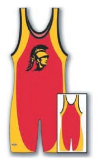 Dagger Custom Wrestling Singlet (OPT74) (Call 1 800 234 2775 to order