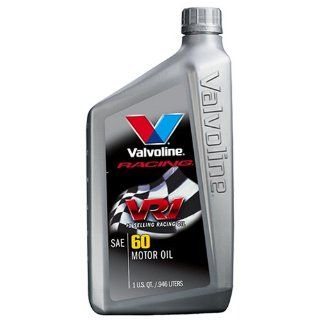 Valvoline VV241 VR1 Racing Formula SAE 60 Turbo Approved Motor Oil   1