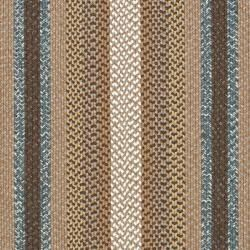 Hand woven Country Living Reversible Brown Braided Rug (4 x 6