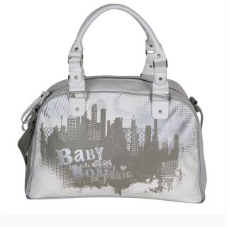 BABY ON BOARD Sac City duo Blanc   Achat / Vente SAC A LANGER BABY ON