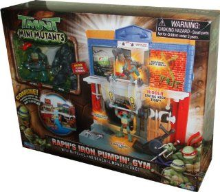 Teenage Mutant Ninja Turtles TMNT Mini Mutants Playset