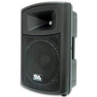 Seismic Audio   PWS 12   Powered PA/DJ 12 Molded Speaker
