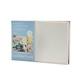Strathmore Palm Beach White Greeting Cards (Pack of 50) Today $29.99